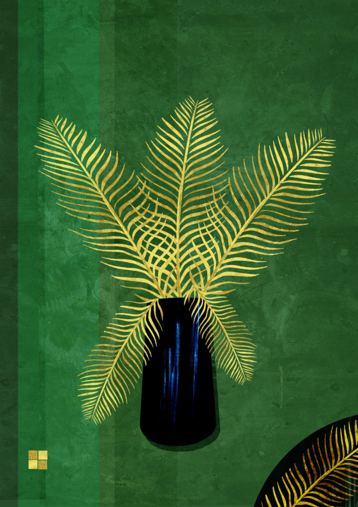 Gold Palm A3 Scaled