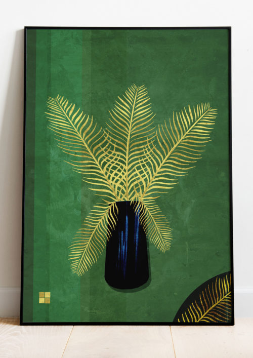 Gold Palm Over